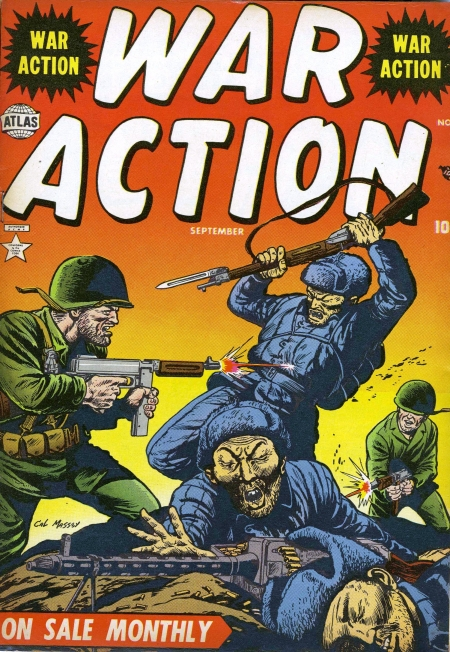 War Action 6 Cover Image