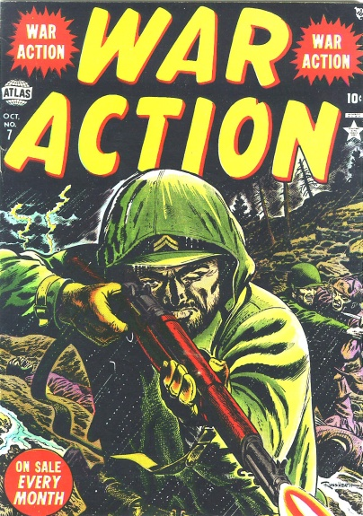 War Action 7 Cover Image