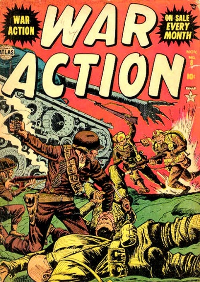 War Action 8 Cover Image