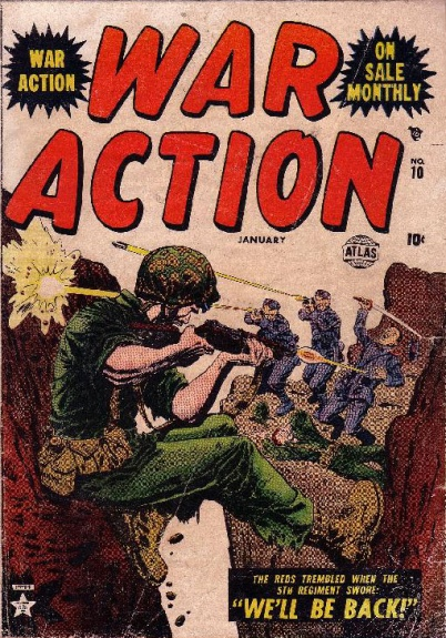War Action 10 Cover Image