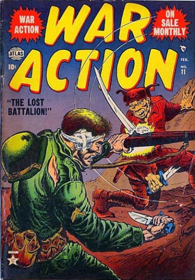 War Action 11 Cover Image