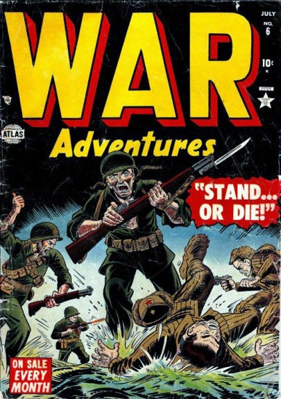 War Adventures 6 Cover Image