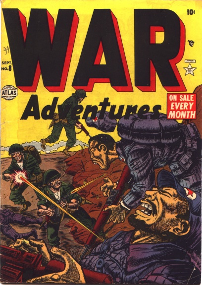 War Adventures 8 Cover Image