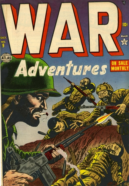 War Adventures 9 Cover Image