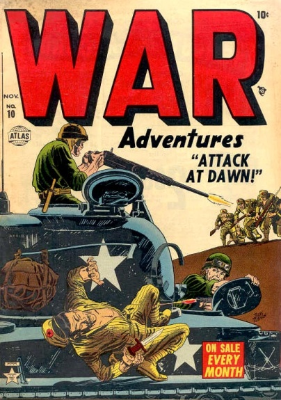 War Adventures 10 Cover Image