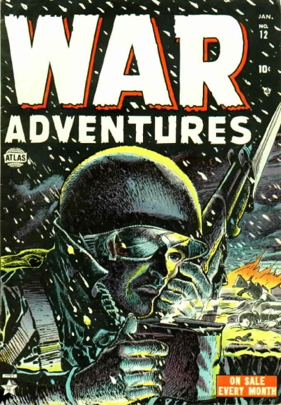 War Adventures 12 Cover Image