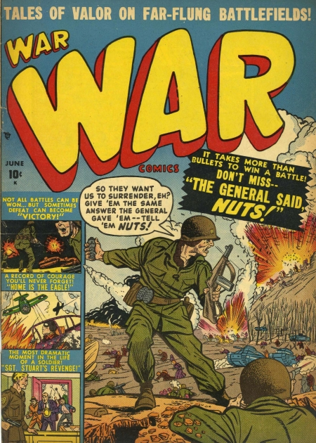 War Comics 4 Cover Image