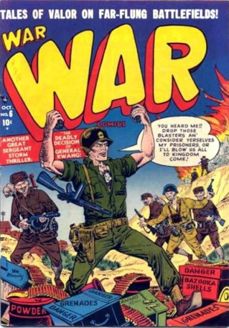 War Comics 6 Cover Image