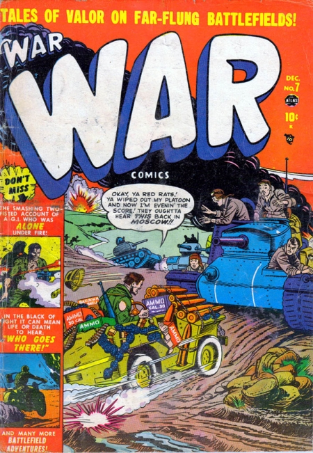 War Comics 7 Cover Image