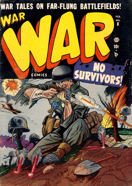 War Comics 8 Cover Image