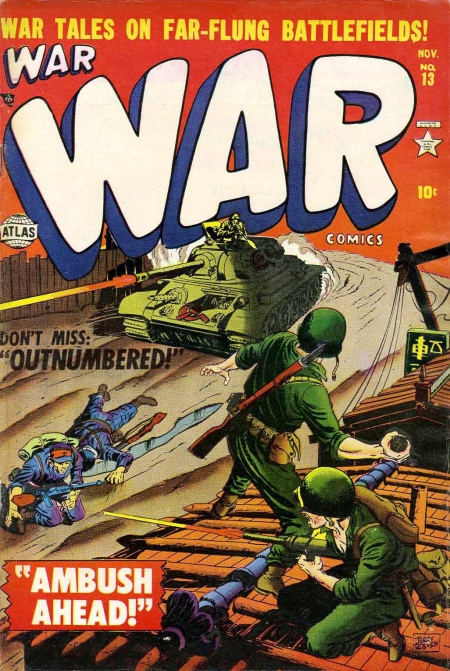 War Comics 13 Cover Image
