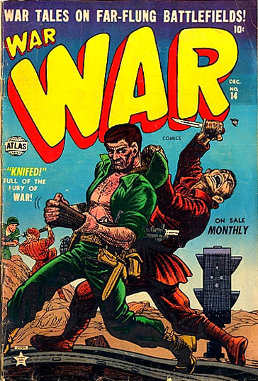 War Comics 14 Cover Image