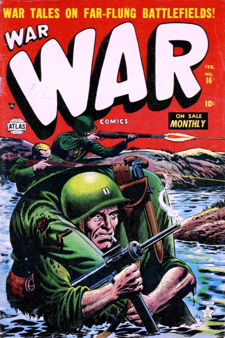 War Comics 16 Cover Image