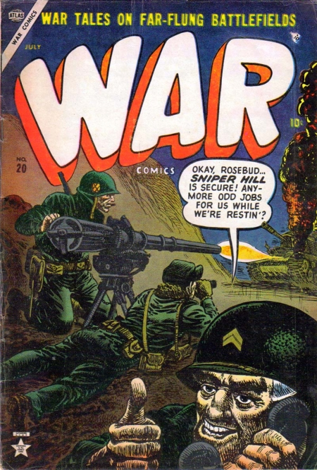 War Comics 20 Cover Image