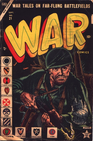 War Comics 21 Cover Image