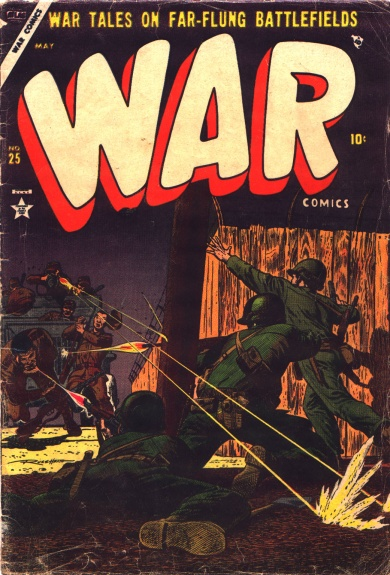 War Comics 25 Cover Image