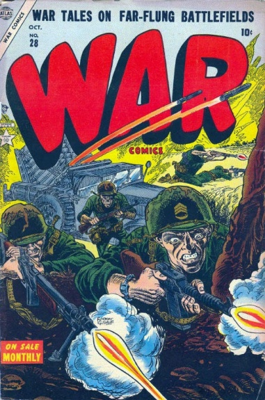 War Comics 28 Cover Image