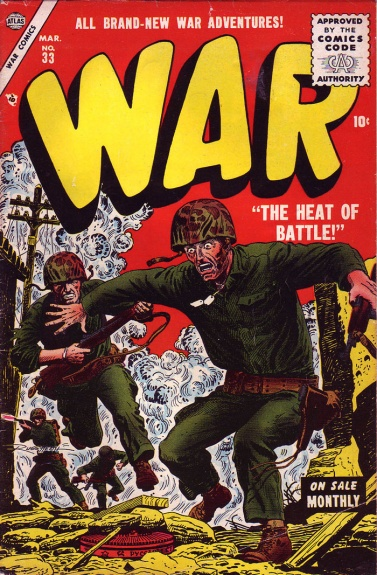 War Comics 33 Cover Image