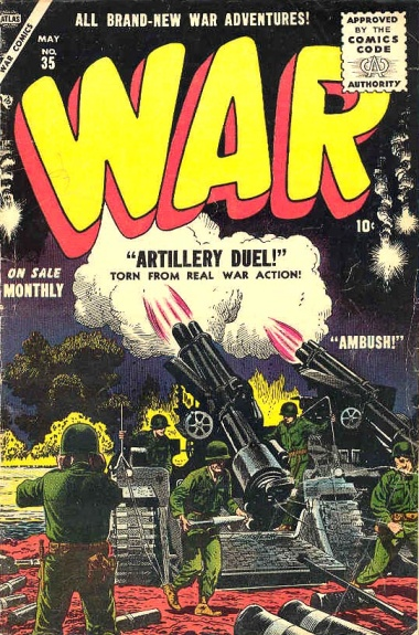 War Comics 35 Cover Image