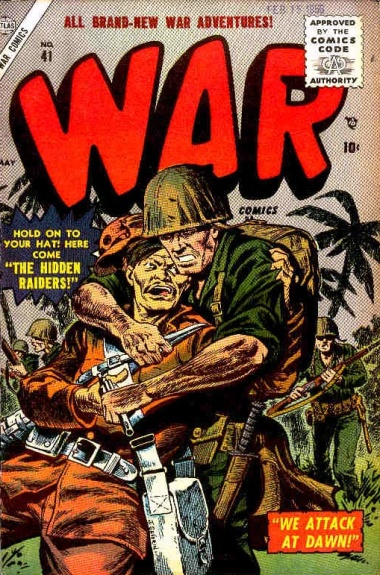 War Comics 41 Cover Image