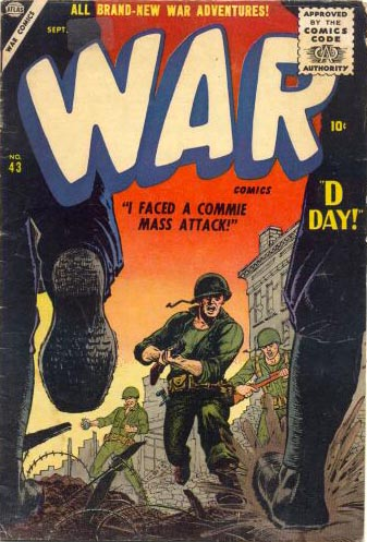 War Comics 43 Cover Image