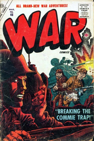 War Comics 46 Cover Image