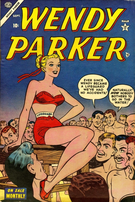 Wendy Parker Comics 3 Cover Image