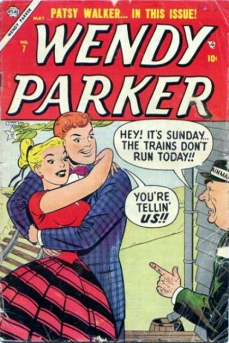 Wendy Parker Comics 7 Cover Image