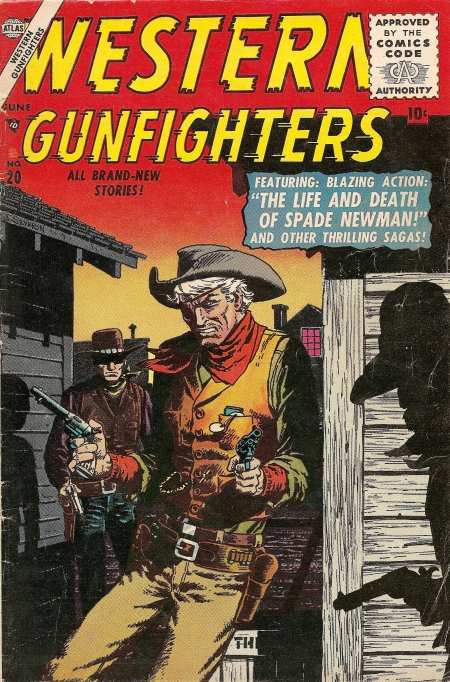 Western Gunfighters 20 Cover Image