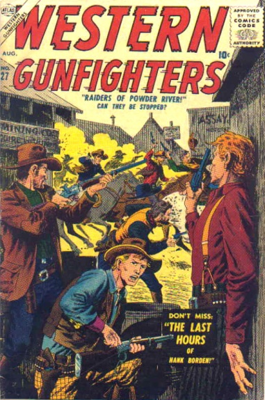 Western Gunfighters 27 Cover Image