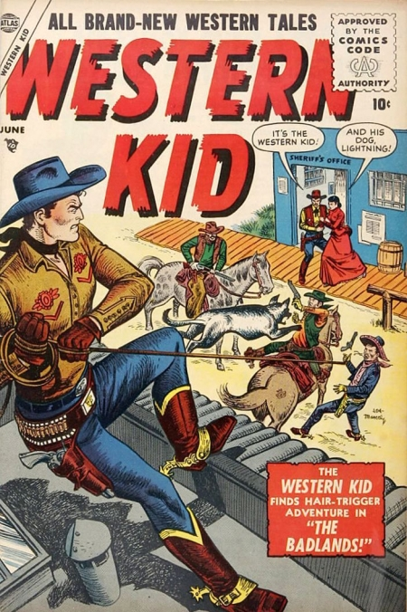 Western Kid 4 Cover Image
