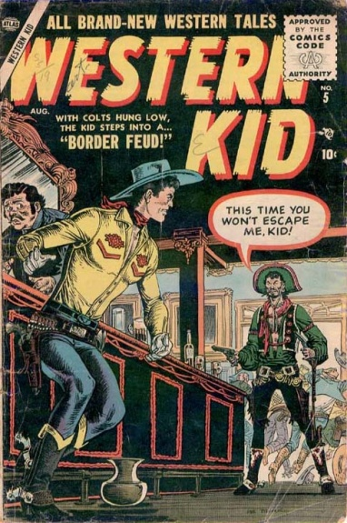 Western Kid 5 Cover Image