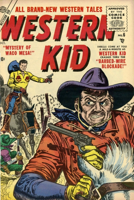Western Kid 6 Cover Image