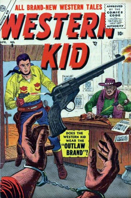 Western Kid 9 Cover Image