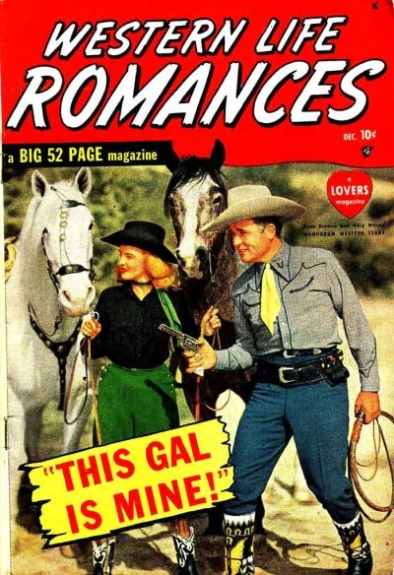 Western Life Romances 1 Cover Image