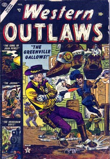 Western Outlaws 1 Cover Image