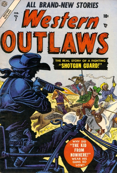 Western Outlaws 7 Cover Image