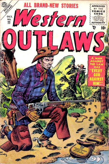 Western Outlaws 11 Cover Image