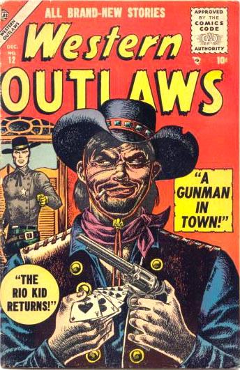 Western Outlaws 12 Cover Image