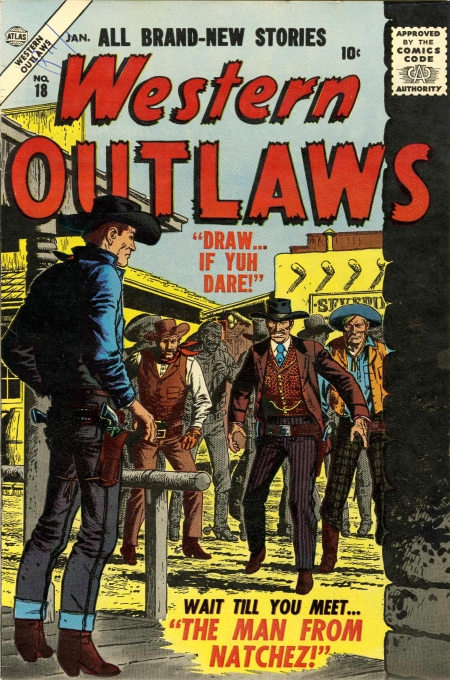 Western Outlaws 18 Cover Image