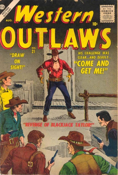 Western Outlaws 21 Cover Image