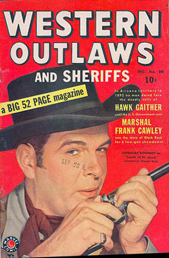 Western Outlaws & Sheriffs 60 Cover Image
