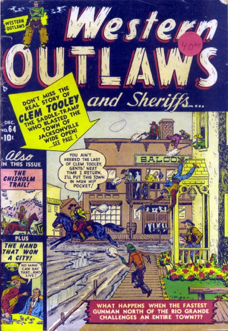 Western Outlaws & Sheriffs 64 Cover Image