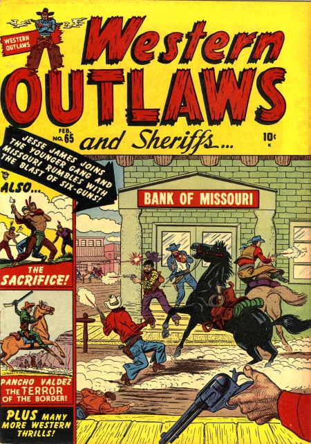 Western Outlaws & Sheriffs 65 Cover Image