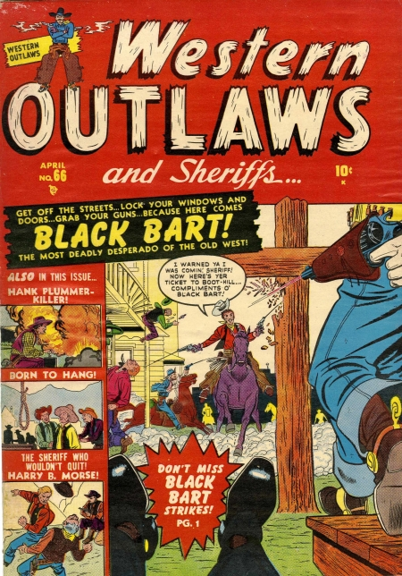Western Outlaws & Sheriffs 66 Cover Image