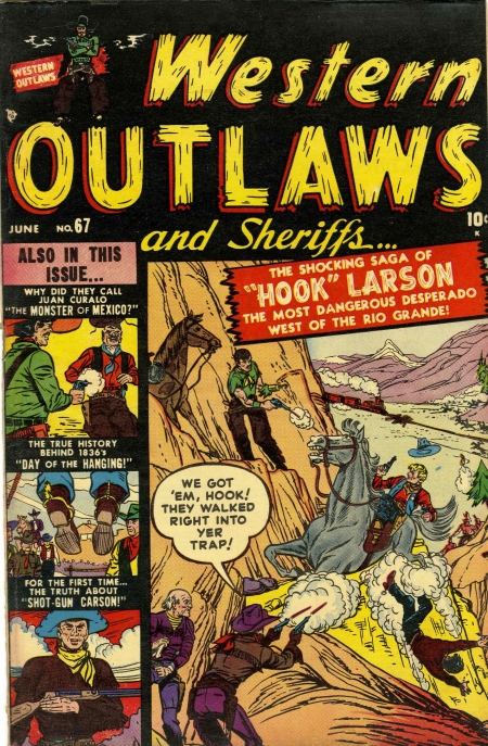 Western Outlaws & Sheriffs 67 Cover Image