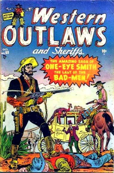 Western Outlaws & Sheriffs 69 Cover Image