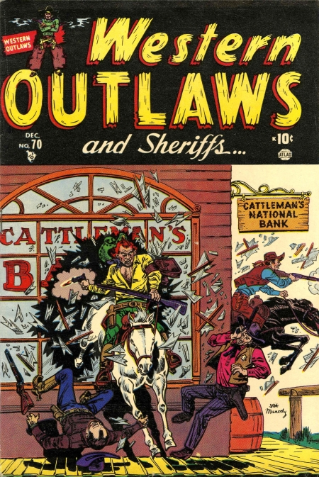 Western Outlaws & Sheriffs 70 Cover Image