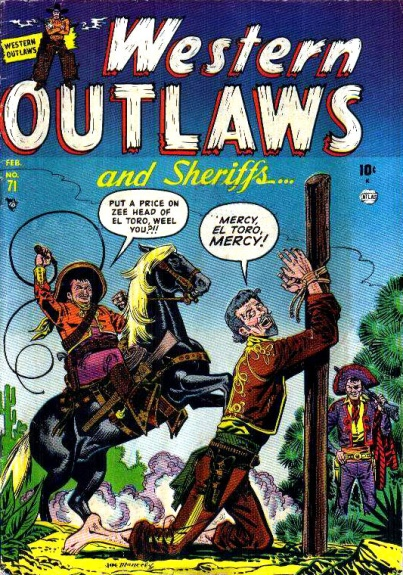 Western Outlaws & Sheriffs 71 Cover Image