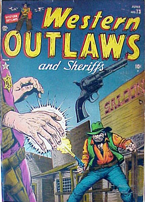 Western Outlaws & Sheriffs 73 Cover Image